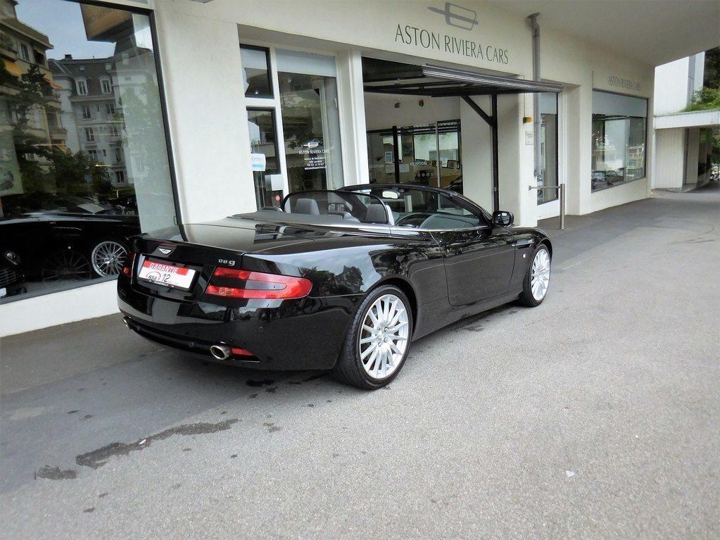 ASTON MARTIN DB9 Volante Touchtronic 2, Benzin, Occasion / Gebraucht, Automat