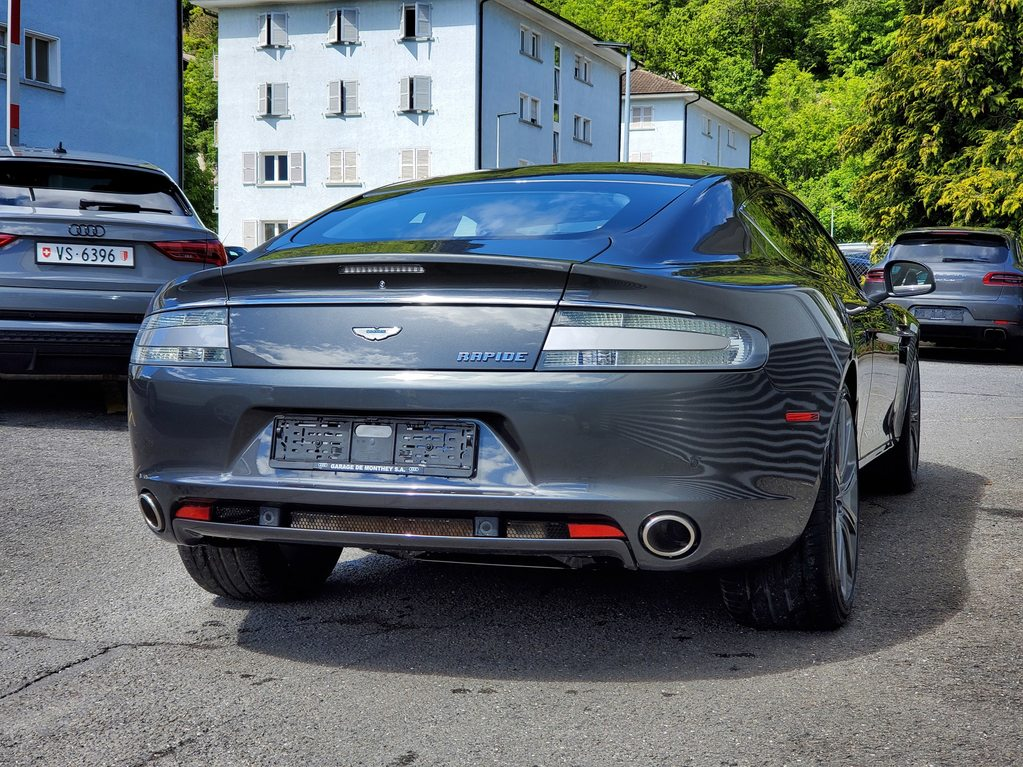 ASTON MARTIN Rapide 5.9 V12 Touchtronic 2, Benzin, Occasion / Gebraucht, Automat