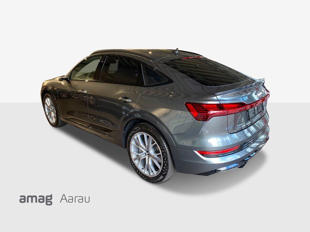 AUDI e-tron 55 Sportback S Line quattro, Elektro, Vorführwagen, Automat