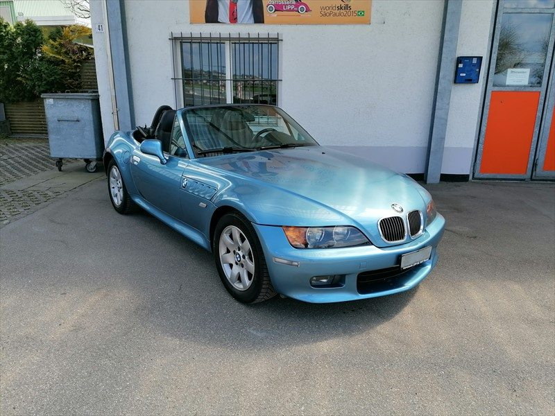 BMW Z3 2.2i Roadster, Benzin, Occasion / Gebraucht, Handschaltung