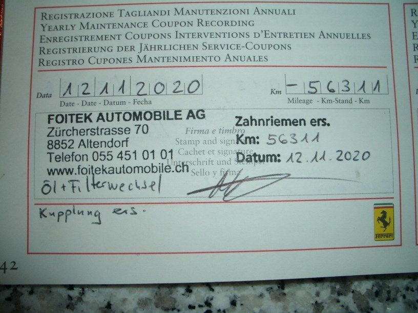 FERRARI F360 Modena Berlinetta, Benzin, Occasion / Gebraucht, Automat