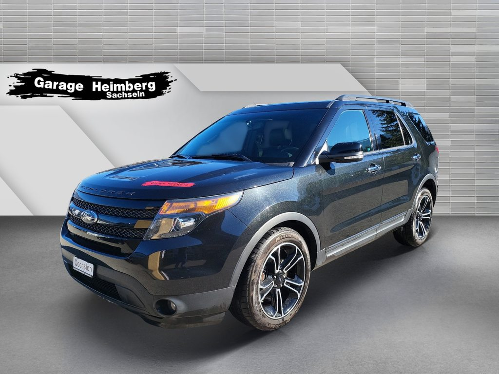 FORD Explorer Sport 3.5i V6 370PS, Petrol, Second hand/used, Automatic