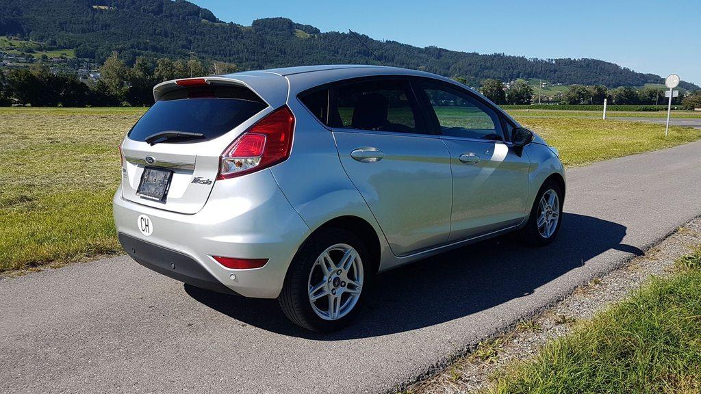 FORD Fiesta 1.0 EcoB 125 Titanium, Benzin, Occasion / Gebraucht, Handschaltung