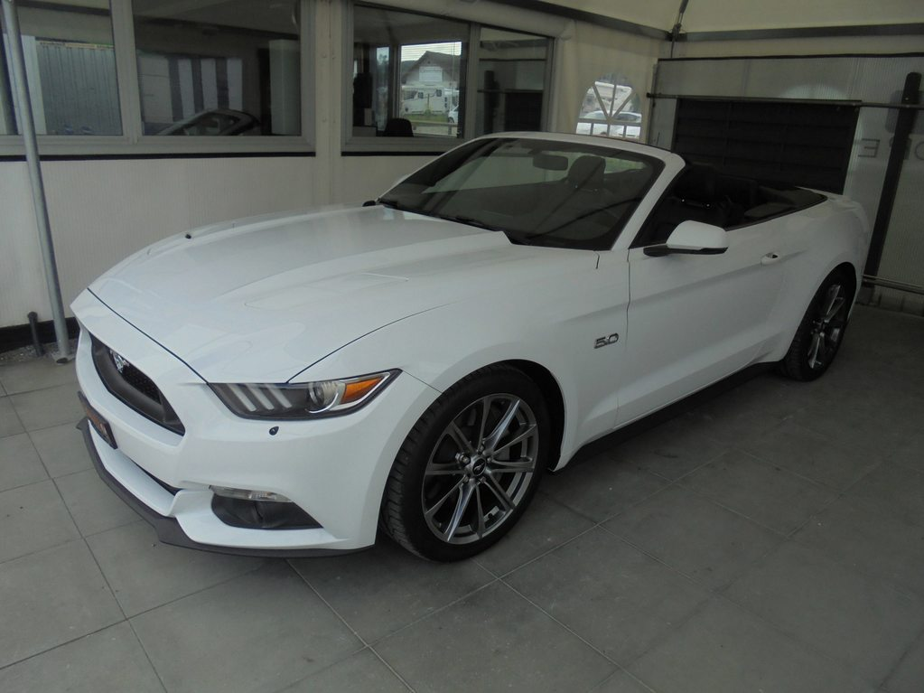FORD Mustang Convertible 5.0 V8 GT Automat, Benzin, Occasion / Gebraucht, Automat