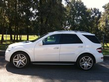 MERCEDES-BENZ ML 63 AMG, Petrol, Second hand/used, Automatic