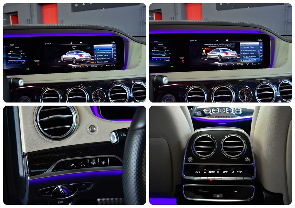 MERCEDES-BENZ S 350 d L 9G-Tronic S 63 AMG UMBAU, Diesel, Occasioni / Usate, Automatico