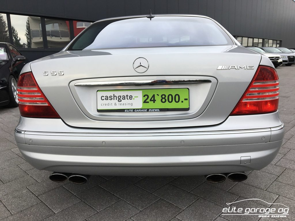 MERCEDES-BENZ S 55 L AMG, Petrol, Second hand/used, Automatic