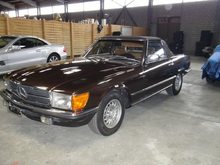 MERCEDES-BENZ SL 280, Petrol, Second hand/used, Automatic