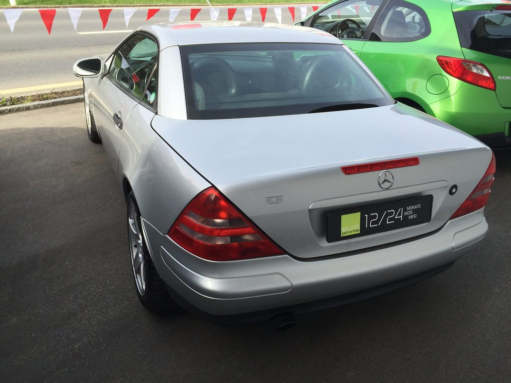 MERCEDES-BENZ SLK-Klasse R170 Cabriolet SLK, Benzin, Occasion / Gebraucht, Automat