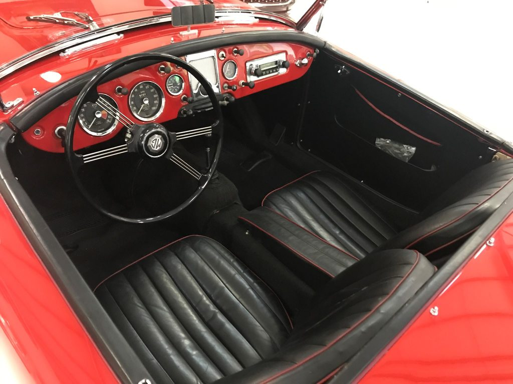 MG A, Benzin, Oldtimer, Handschaltung