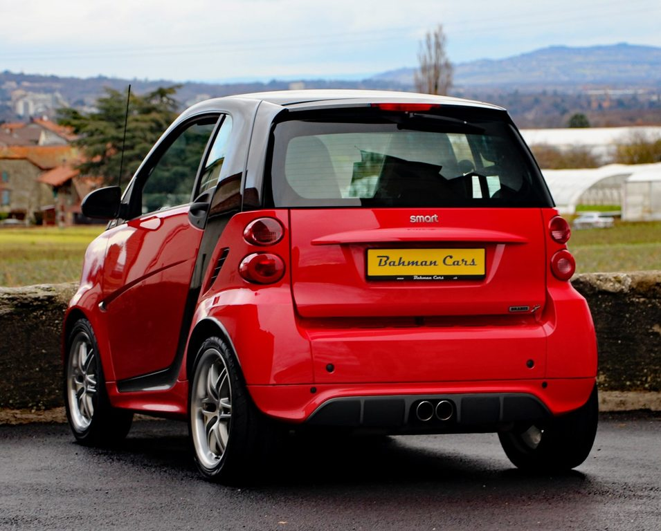 SMART fortwo Brabus softouch, Benzin, Occasion / Gebraucht, Automat