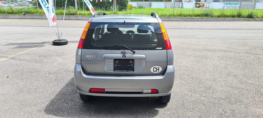 SUBARU G3X Justy 1.5, Benzin, Occasion / Gebraucht, Handschaltung
