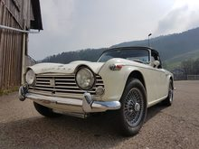 TRIUMPH TR4, Essence, Automobiles de collection, Manuelle