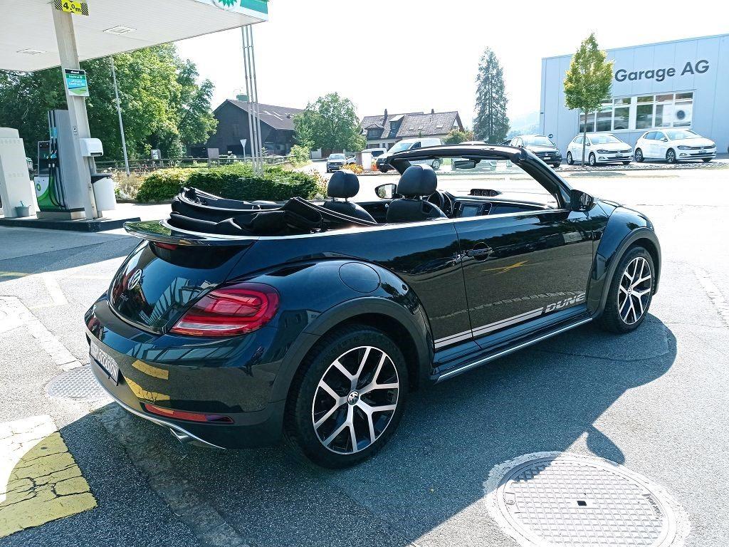 VW Beetle Cabriolet 2.0 TSI BMT Dune DSG, Essence, Occasion / Utilisé, Automatique