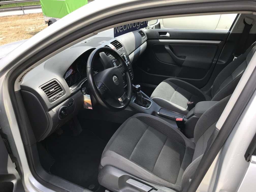 VW Golf V Var. 1.9 TDI DPF Comfl.4m, Diesel, Occasion / Gebraucht, Handschaltung